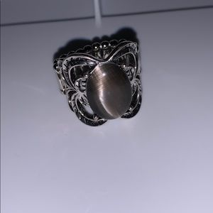 NWOT Dark Gray Moonstone-like Ring